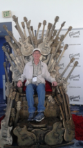 Mark chair at NAMM