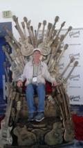 Mark chair at NAMM